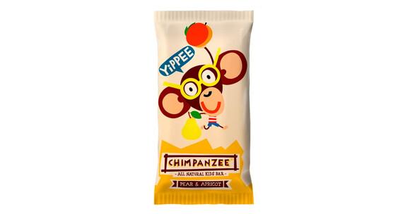 Chimpanzee Yippee Kids Bar Vegan Żywność energetyczna Birne & Aprikose 35g beżowy